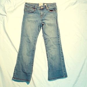 OLD NAVY The Girlfriend boot-cut jeans - size 8